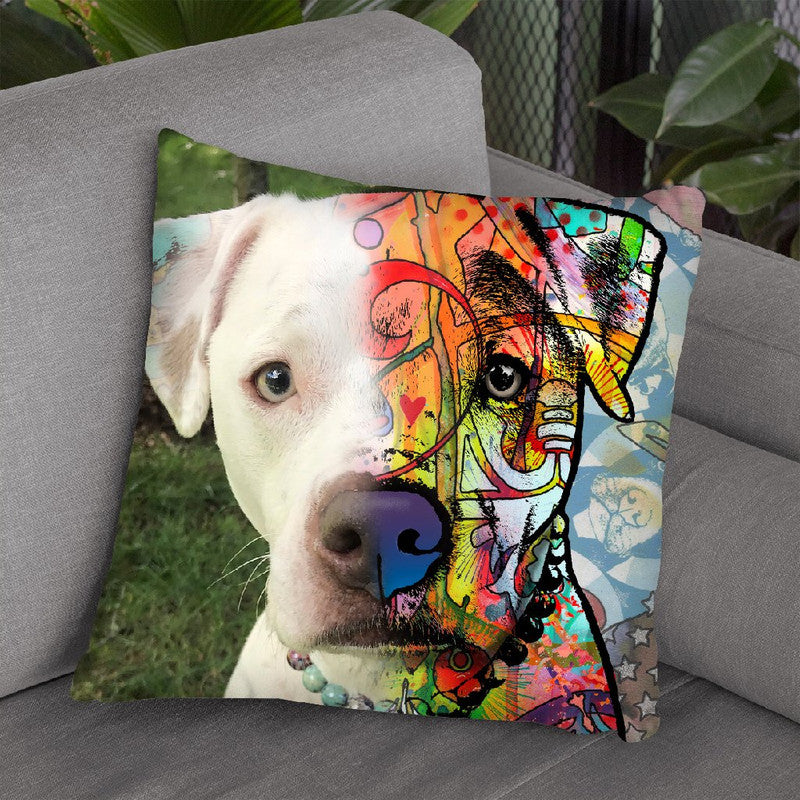 Lorisa Vellone Throw Pillow By Dean Russo