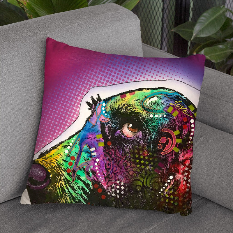 Sneek Peek 1 Throw Pillow By Dean Russo
