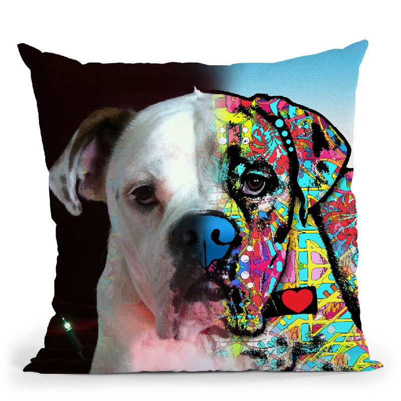 Staci Tank Throw Pillow By Dean Russo