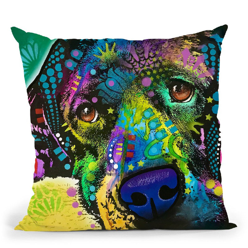 That Happy Place Throw Pillow By Dean Russo