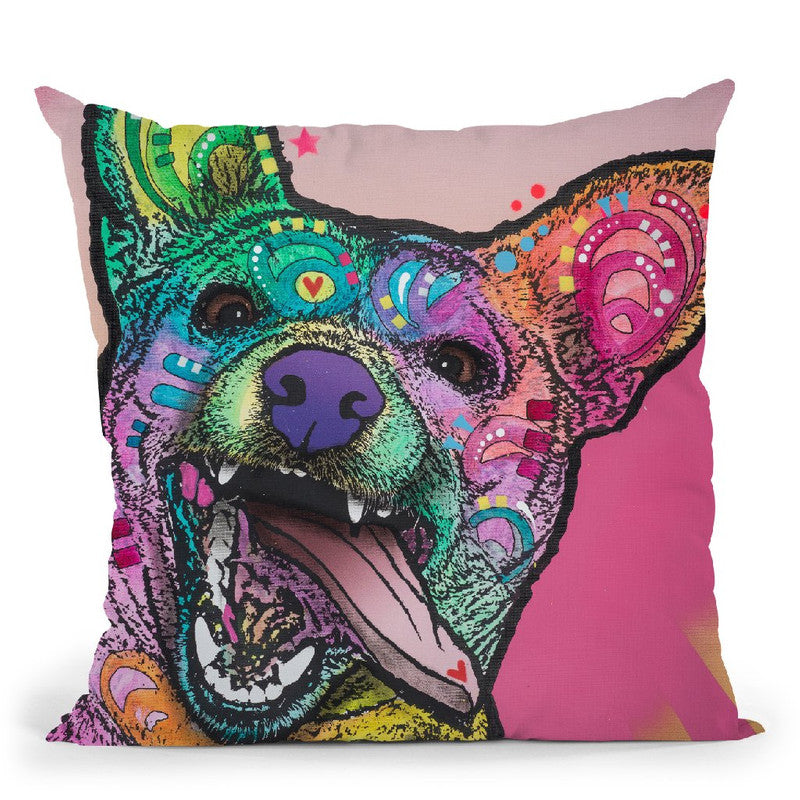 Jack Throw Pillow By Dean Russo