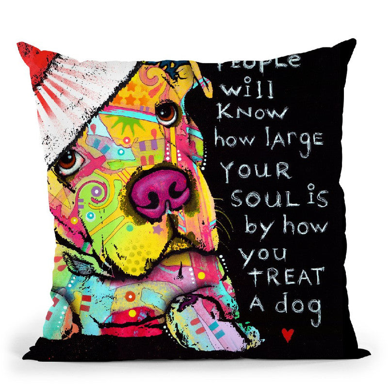 Firu Christmas Throw Pillow By Dean Russo