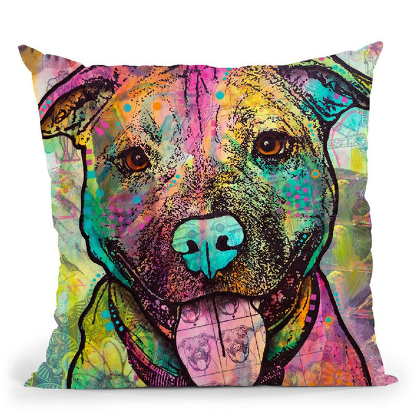 Hey Smile Throw Pillow By Dean Russo