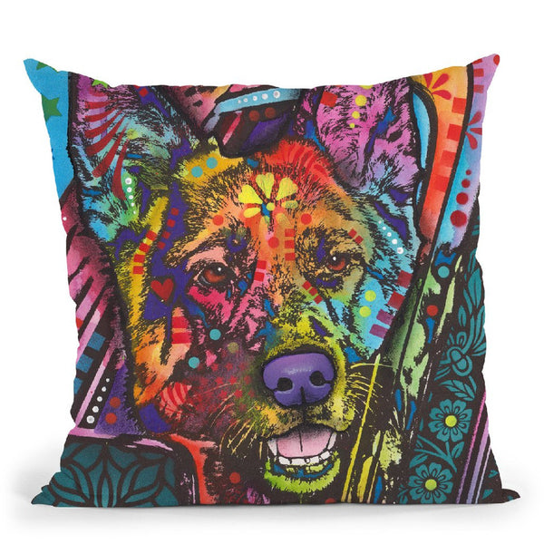 Jax Throw Pillow By Dean Russo