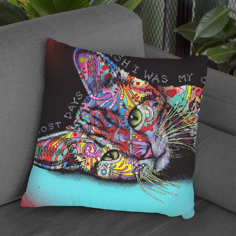 Most Days Throw Pillow By Dean Russo