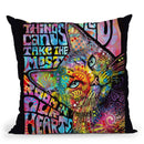 The Smallest Things Throw Pillow By Dean Russo
