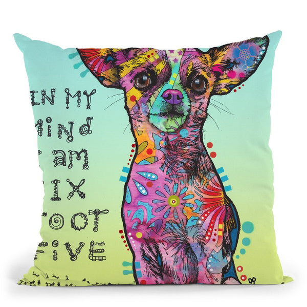 In My Mind Throw Pillow By Dean Russo