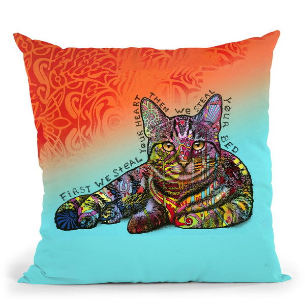 Steal Your Bed Throw Pillow By Dean Russo