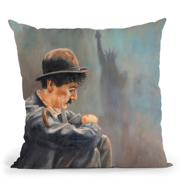 Charlie Throw Pillow By David Stribbling
