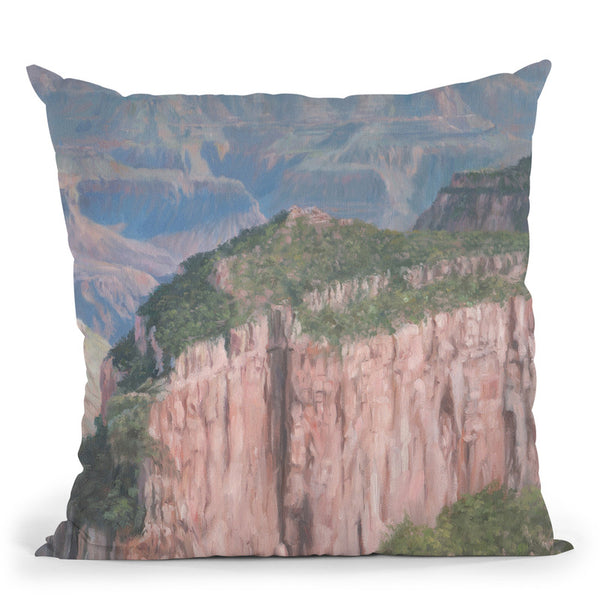Grand Canyon Throw Pillow By David Stribbling
