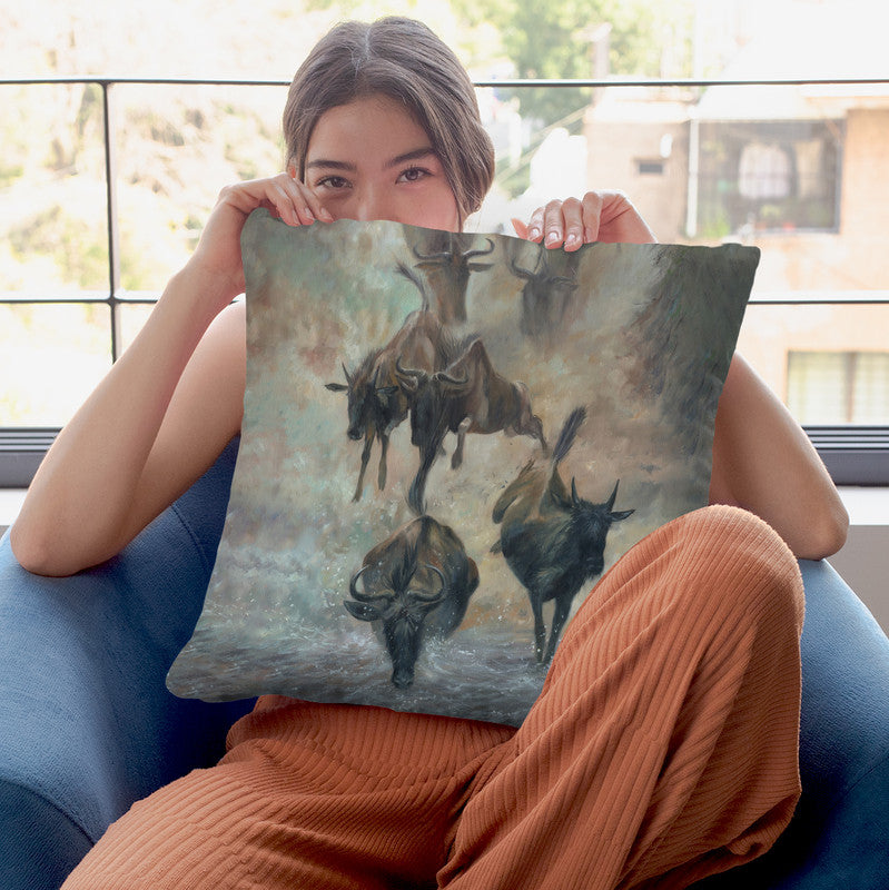 The Great Migration Throw Pillow By David Stribbling