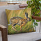 Wild Hare Running Throw Pillow By David Stribbling