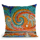 Bathsheba'S Sky Throw Pillow By Dena Tollefson