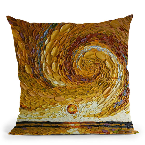 Martha'S Pond Throw Pillow By Dena Tollefson