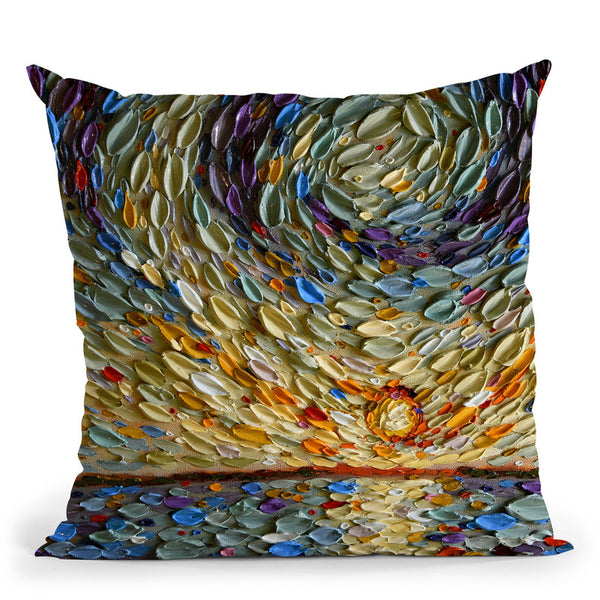 Peter'S Sky Throw Pillow By Dena Tollefson