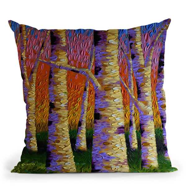Relilient Connections Throw Pillow By Dena Tollefson