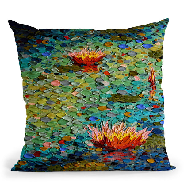 Summertime Glory Throw Pillow By Dena Tollefson
