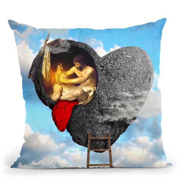 Inner Sanctum Throw Pillow By Diogo Verissimo