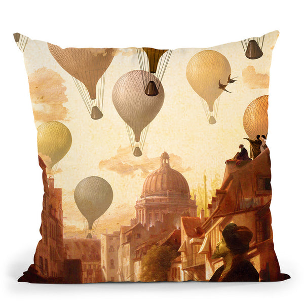 Voyage To The Unknown Throw Pillow By Diogo Verissimo