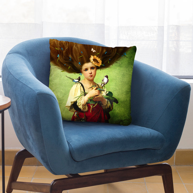Warm Embrace Throw Pillow By Diogo Verissimo