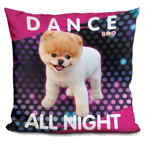 Boo Dance All Night Throw Pillow