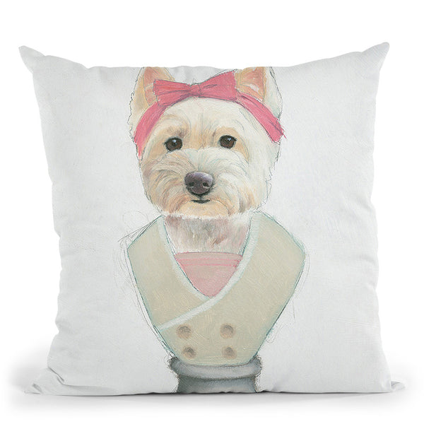 Canine Couture Ii Throw Pillow By Emily Adams