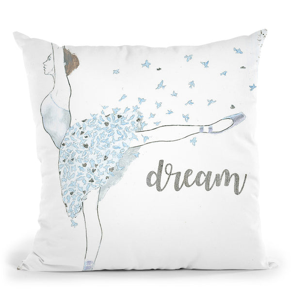 Dream Dancer Ii Throw Pillow By Emily Adams
