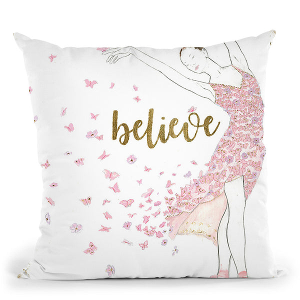 Dream Dancer Throw Pillow By Emily Adams