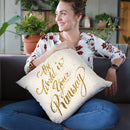 Shoe Fetish Quotes Iv Light Throw Pillow By Emily Adams