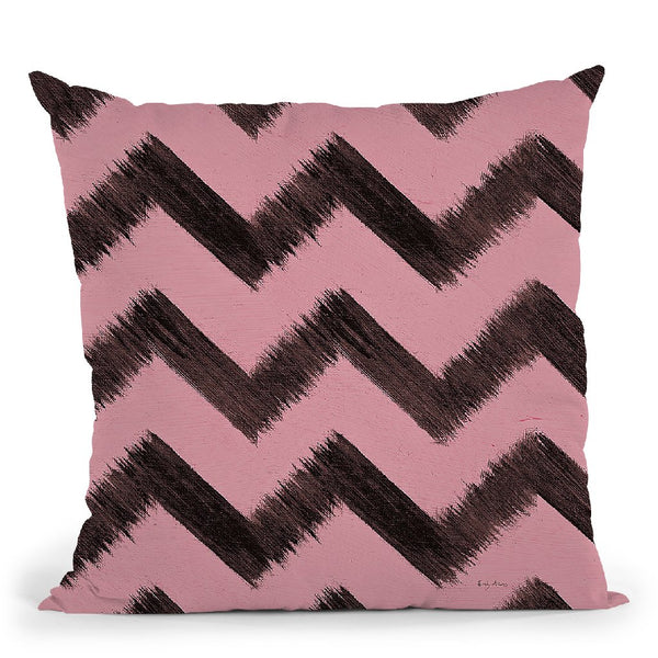 Shoe Fetish Pattern Ii D Throw Pillow By Emily Adams
