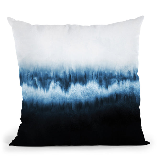 Forest Of Frost Throw Pillow By Elisabeth Fedrikson