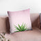 Succulent Simplicity I On Pink Throw Pillow By Felicity Bradley