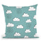 Neighborhood Pals Pattern Ic Throw Pillow By Farida Zaman