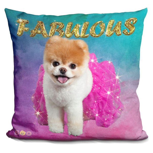 Boo Fabulous Boo Throw Pillow