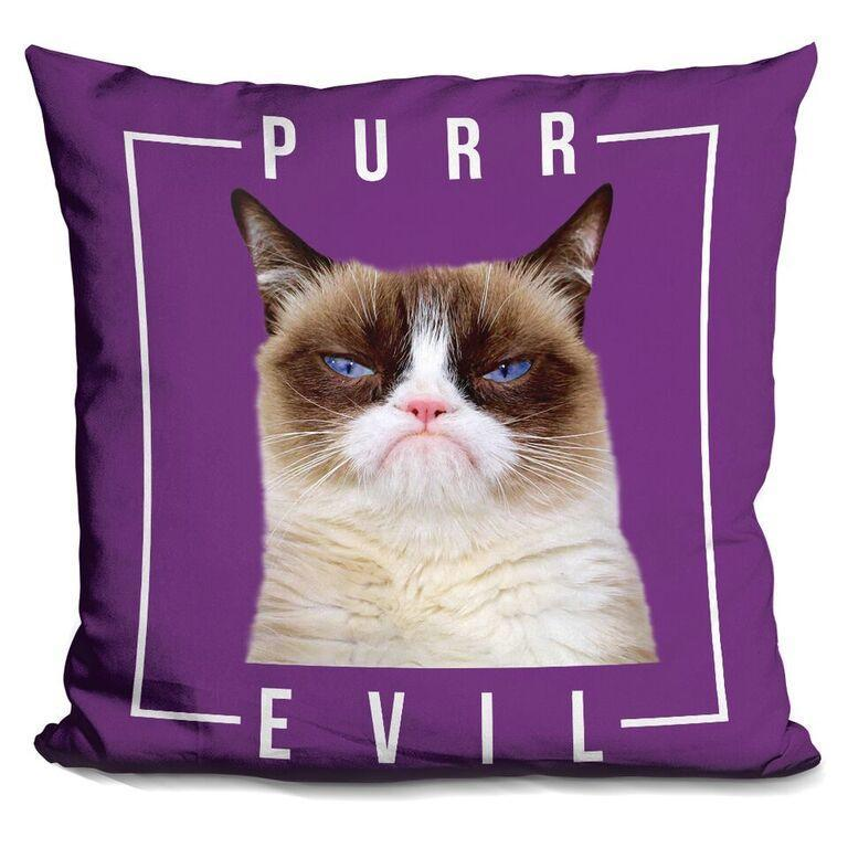Purr Evil Pillow