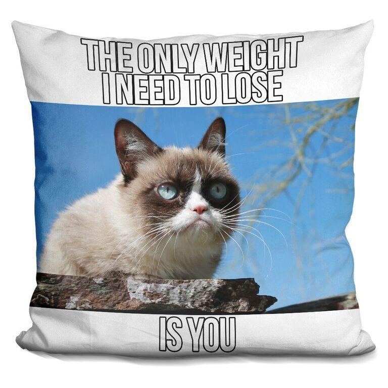 The only weight I need to lose IS YOU Pillow
