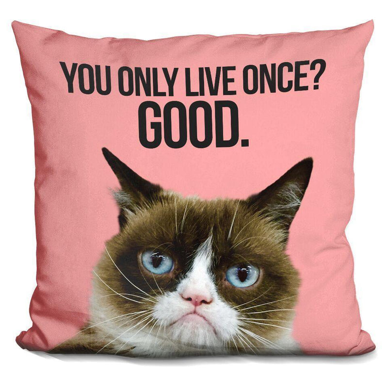 You Only Live Once, Good Pillow