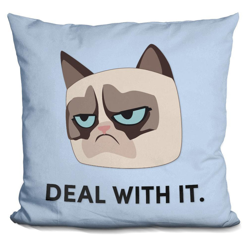 DEAL WITH IT- GRUMPY CAT