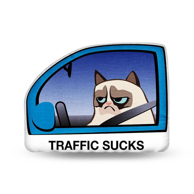 TRAFFIC SUCKS Pillow