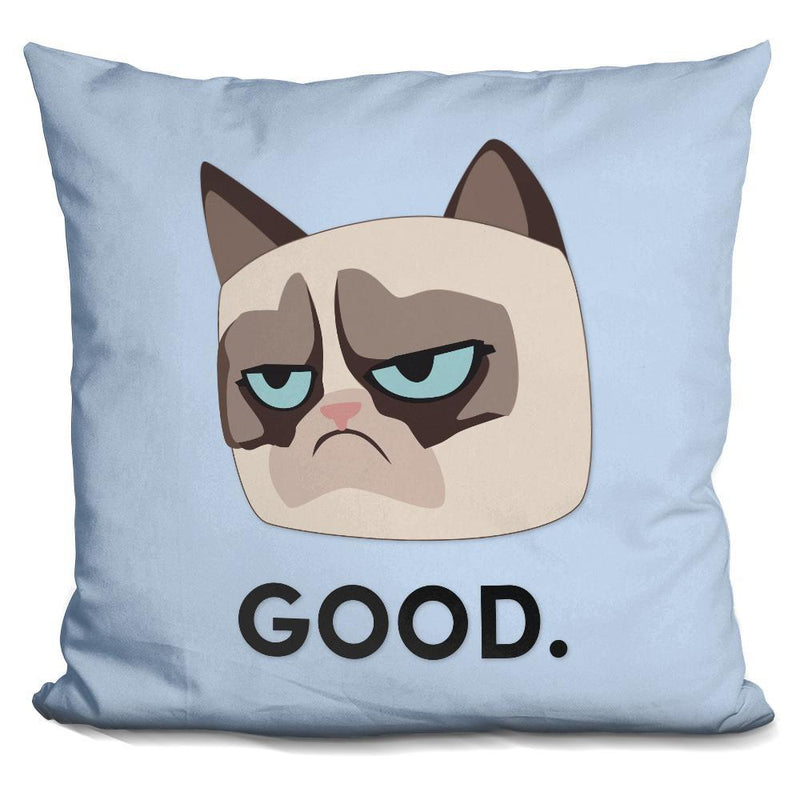 GOOD-GRUMPY CAT Pillow