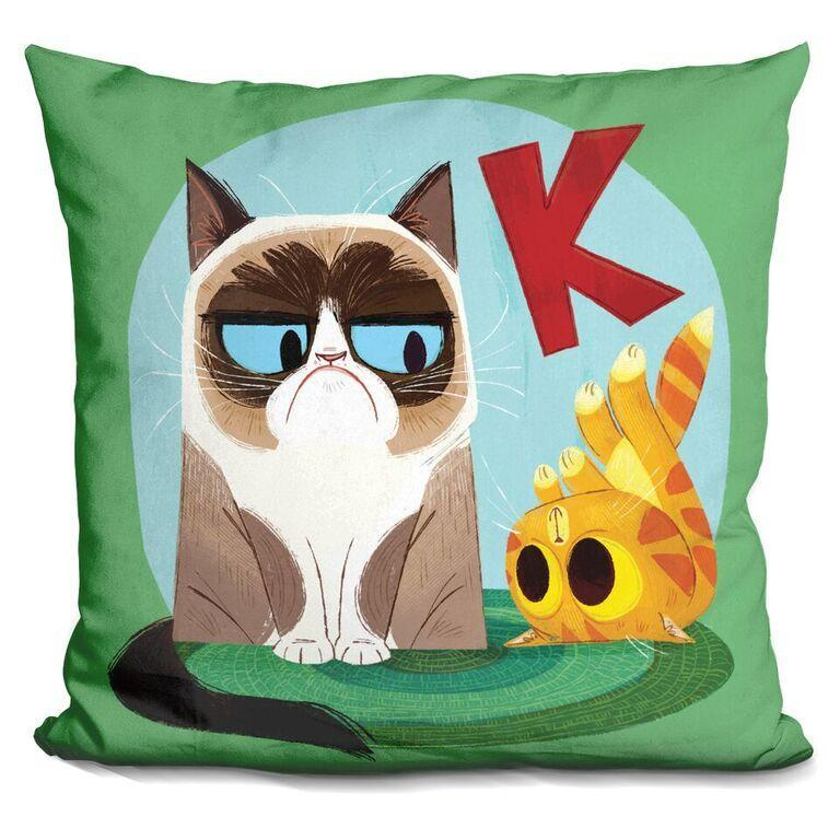 K is for Kitten Pillow