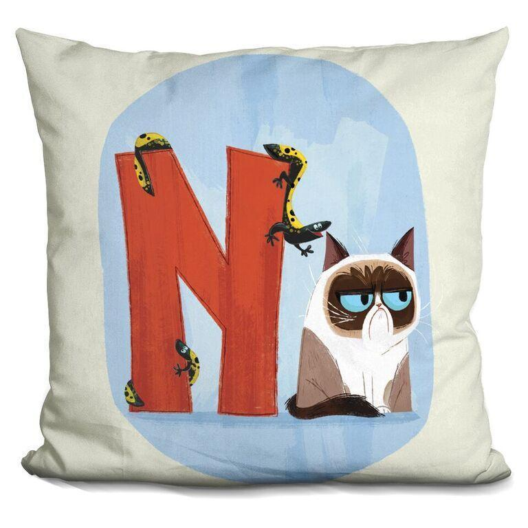 N is for Newt Pillow