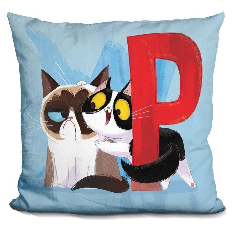 P is for Pokey Pillow