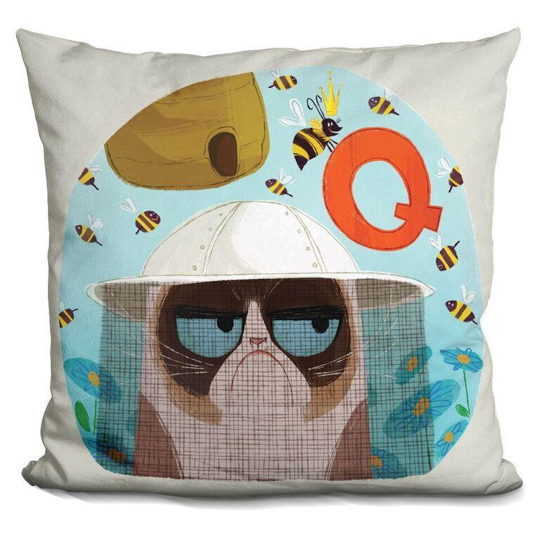 Q is for Queen Bee Pillow