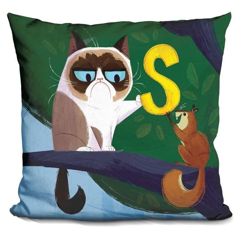 S is for Squirrel Pillow