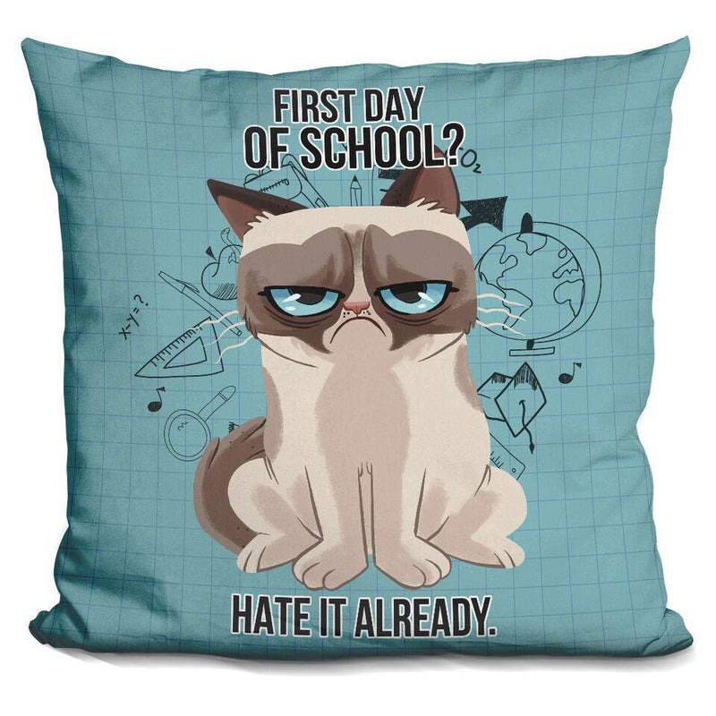 First Day of School Pillow