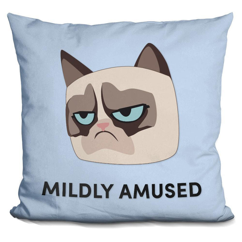 MILDLY AMUZED-GRUMPY CAT