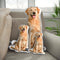 Custom Golden Retriever Shaped Dog Pillow