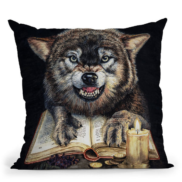 Fictionin The Flesh Throw Pillow By Holly Simental