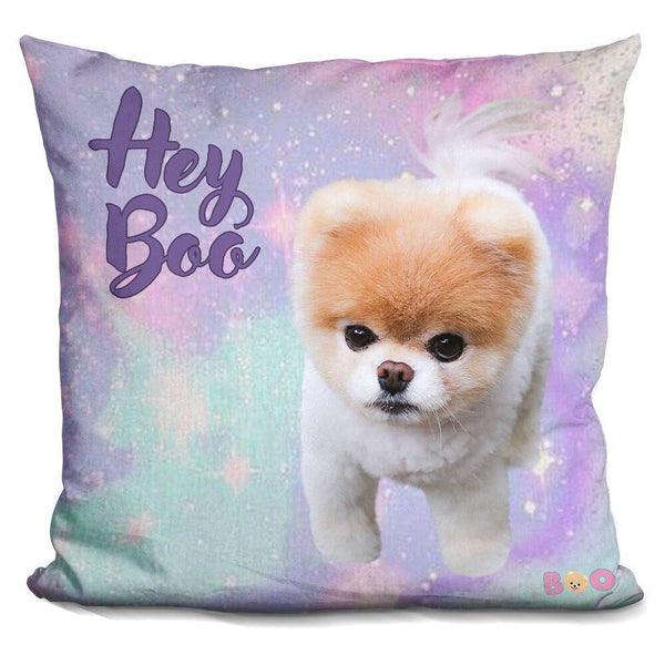 Boo Hey Throw Pillow